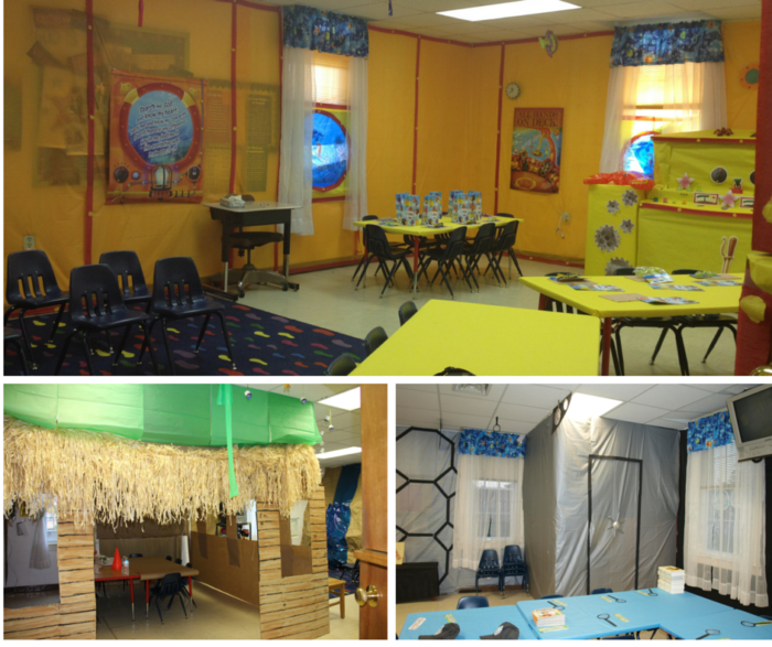 Male Classroom Decor ~ Pinterest vbs journey off the map