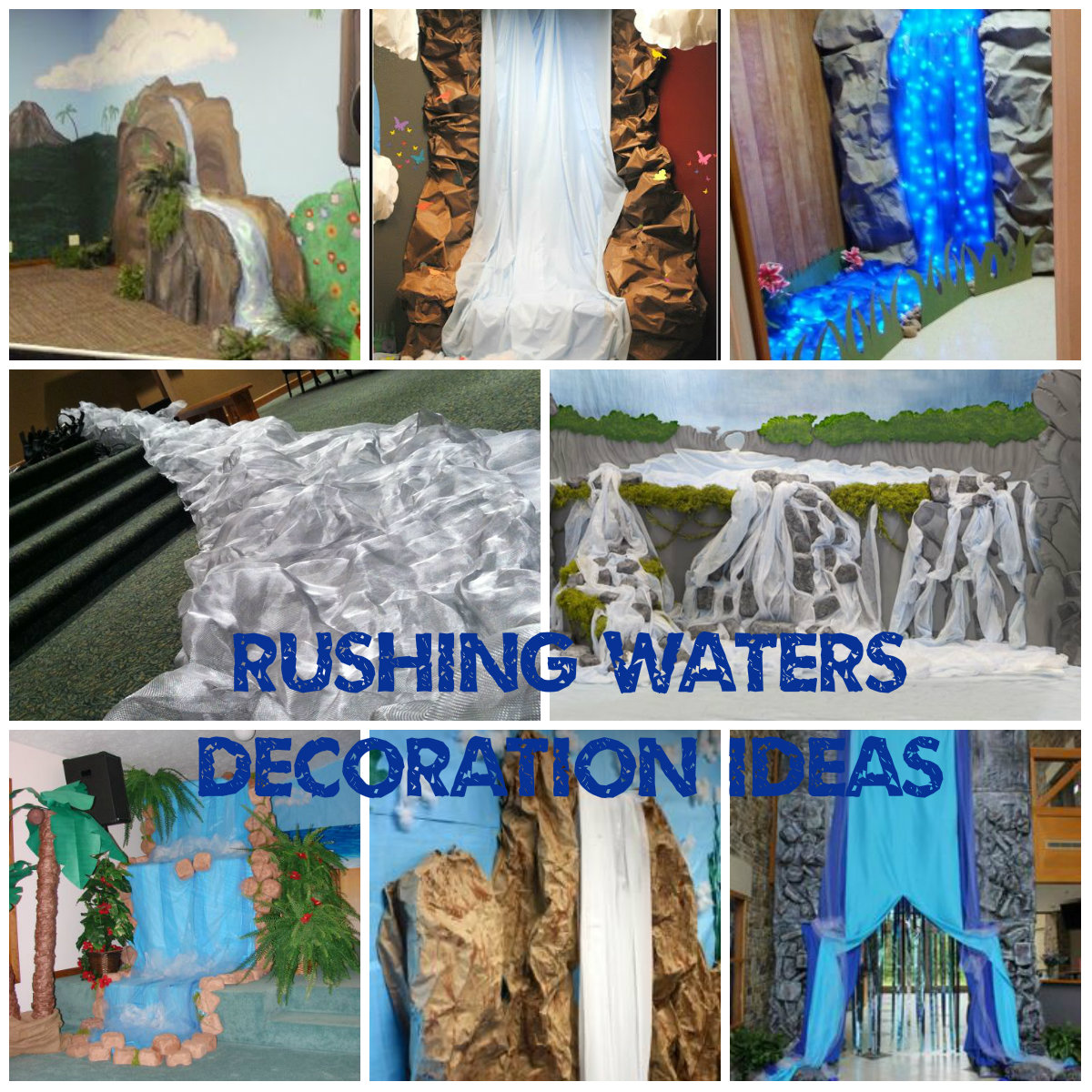 Rushing Waters Music Decoration Ideas Vbs 2015 Rebecca