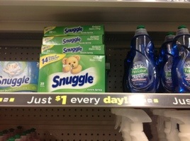 Snuggle Dryer Sheets Dollar General MSM