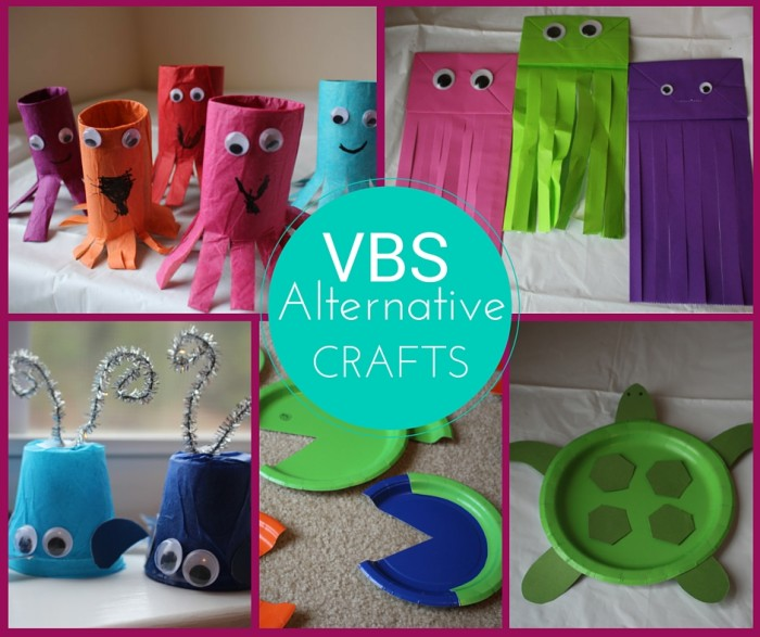 Lifeway vbs 2016 submerged decoration ideas for Art and craft for school decoration