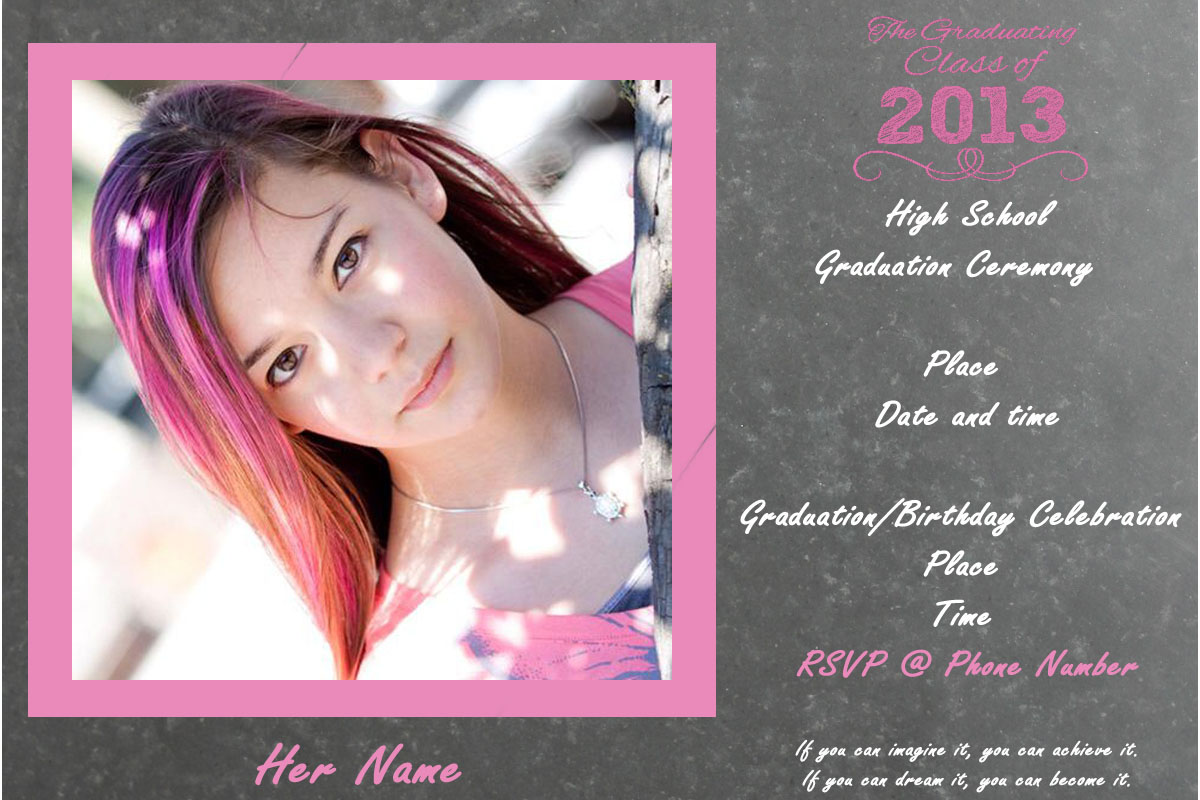 How to Make Cheap Graduation Announcements Rebecca Autry Creations