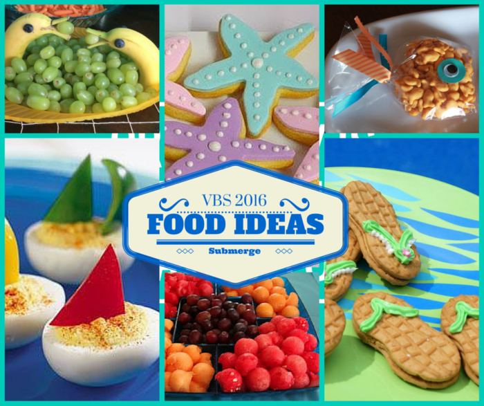 Submerged Vbs 2016 Food Ideas Rebecca Autry Creations