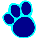 Blues Clues Paws PNG Format