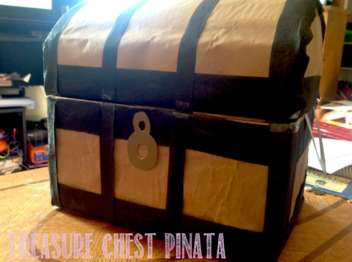 how to make a minecraft pinata with a box