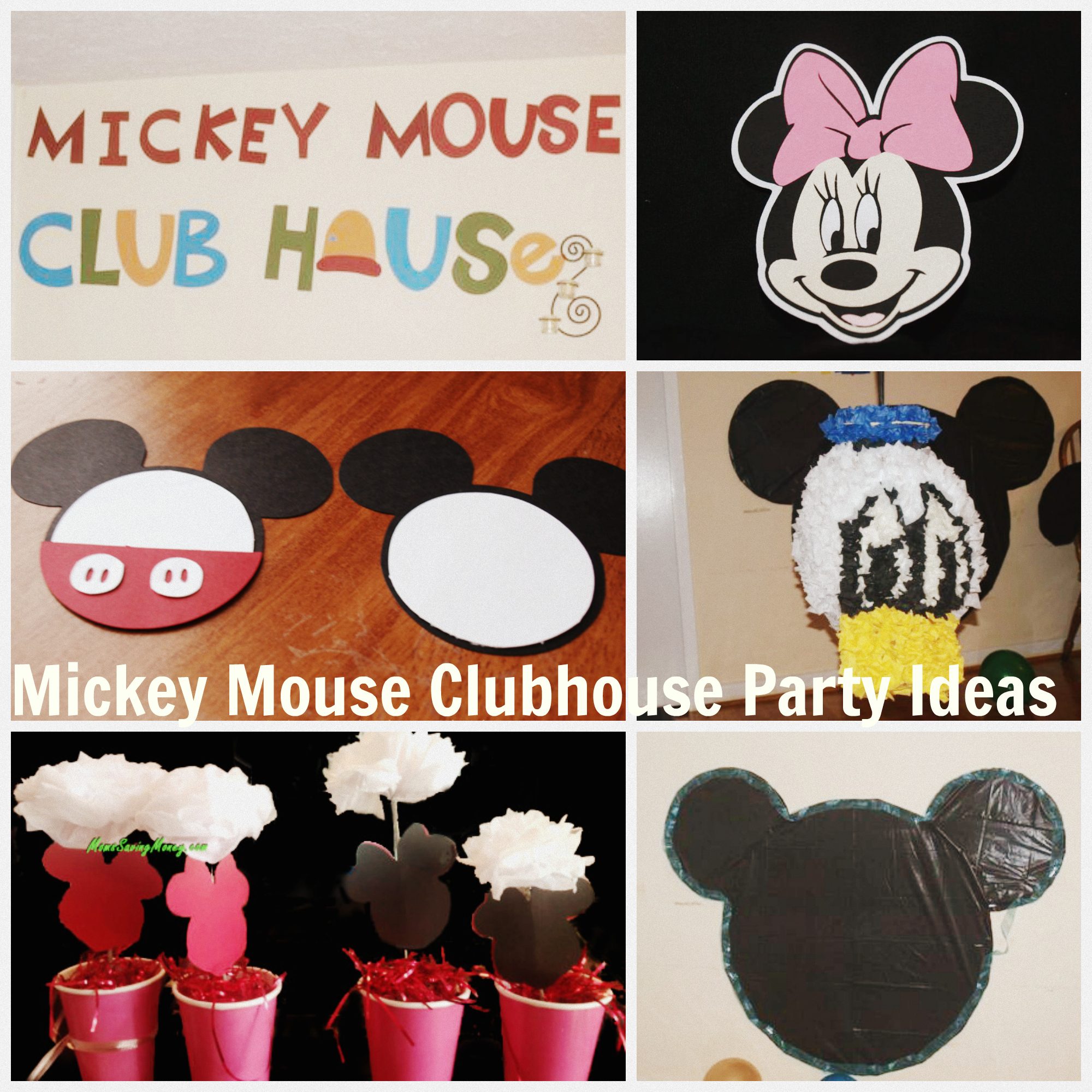mickey mouse clubhouse party ideas rebecca autry creations