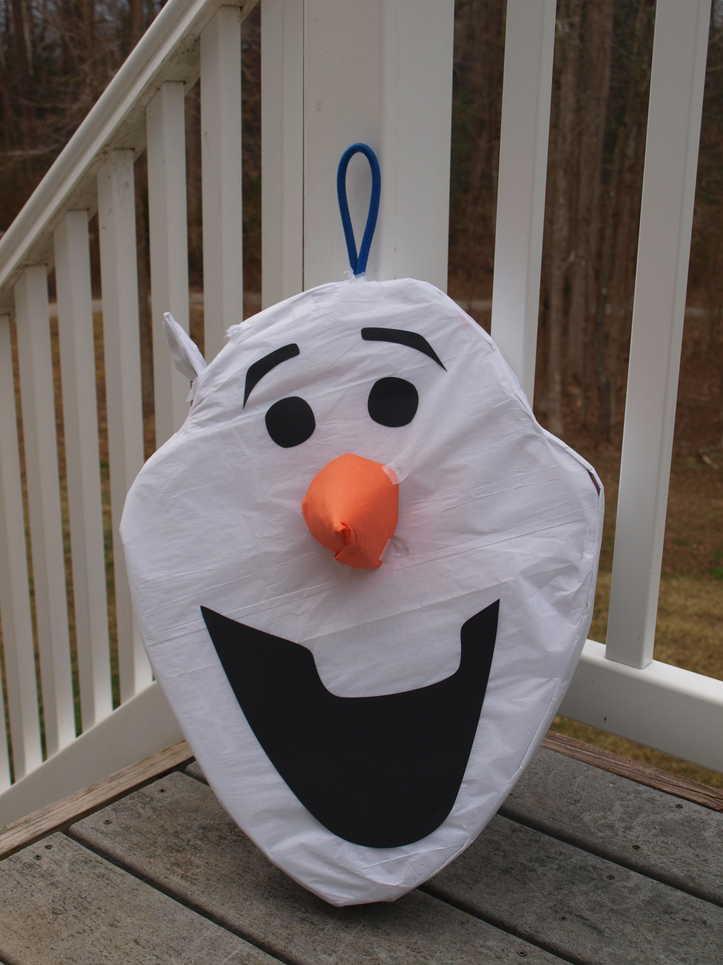 Olaf Pinata Tutorial Rebecca Autry Creations