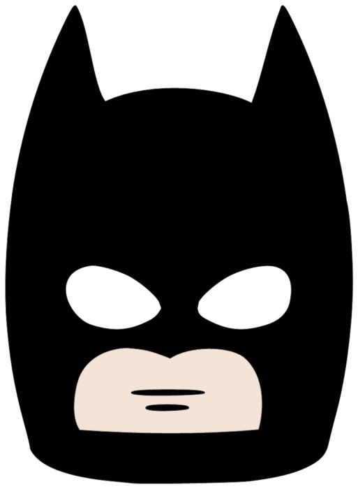 Lego party ideas rebecca autry creations for Batman face mask template