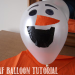 Olaf Balloon Tutorial