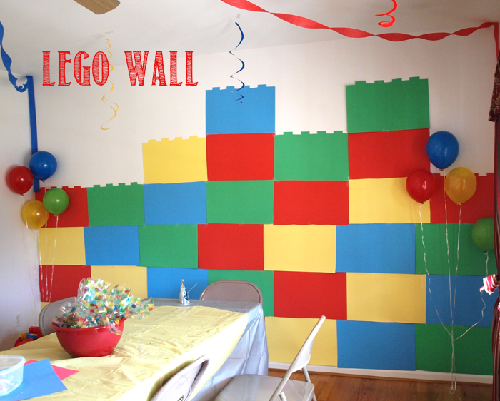 Lego wall decoration tutorial for Decoration lego