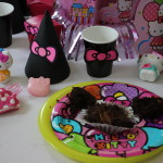 Hello Kitty Cupcake mess